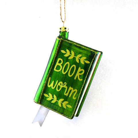 Book Worm Ornament