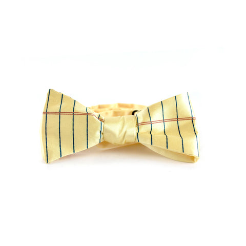 College Ruled Bow Tie
