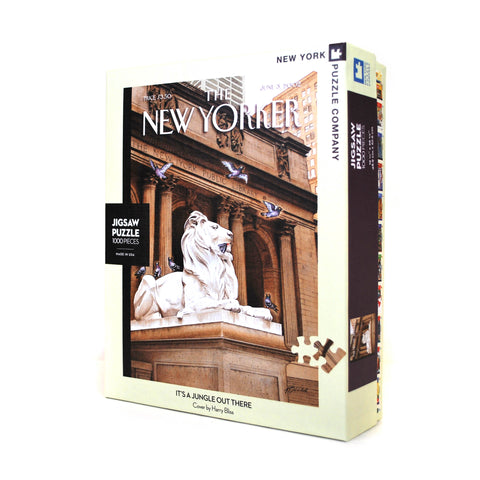 Library Lion New Yorker Puzzle