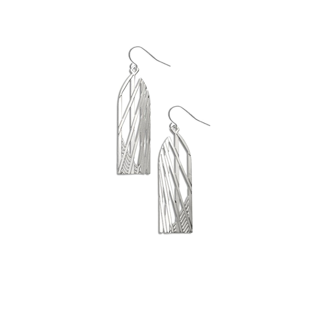 Brooklyn Bridge Earrings - The New York Public Library Shop