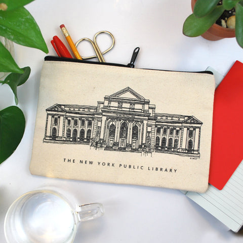NYPL Building Pouch