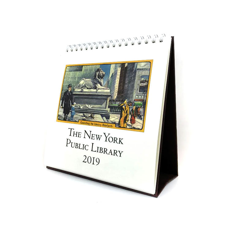 2019 New York Public Library Desk Calendar - The New York Public Library Shop
