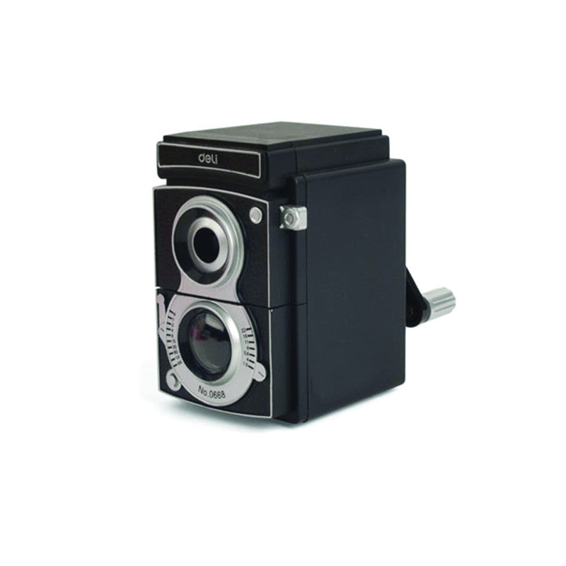 Vintage Style Camera Pencil Sharpener