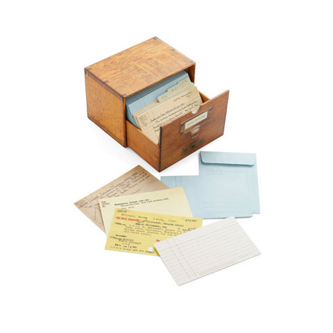 Card Catalog - 30 Notecards