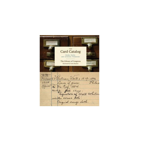 Card Catalog: Books, Cards, and Literary Treasures