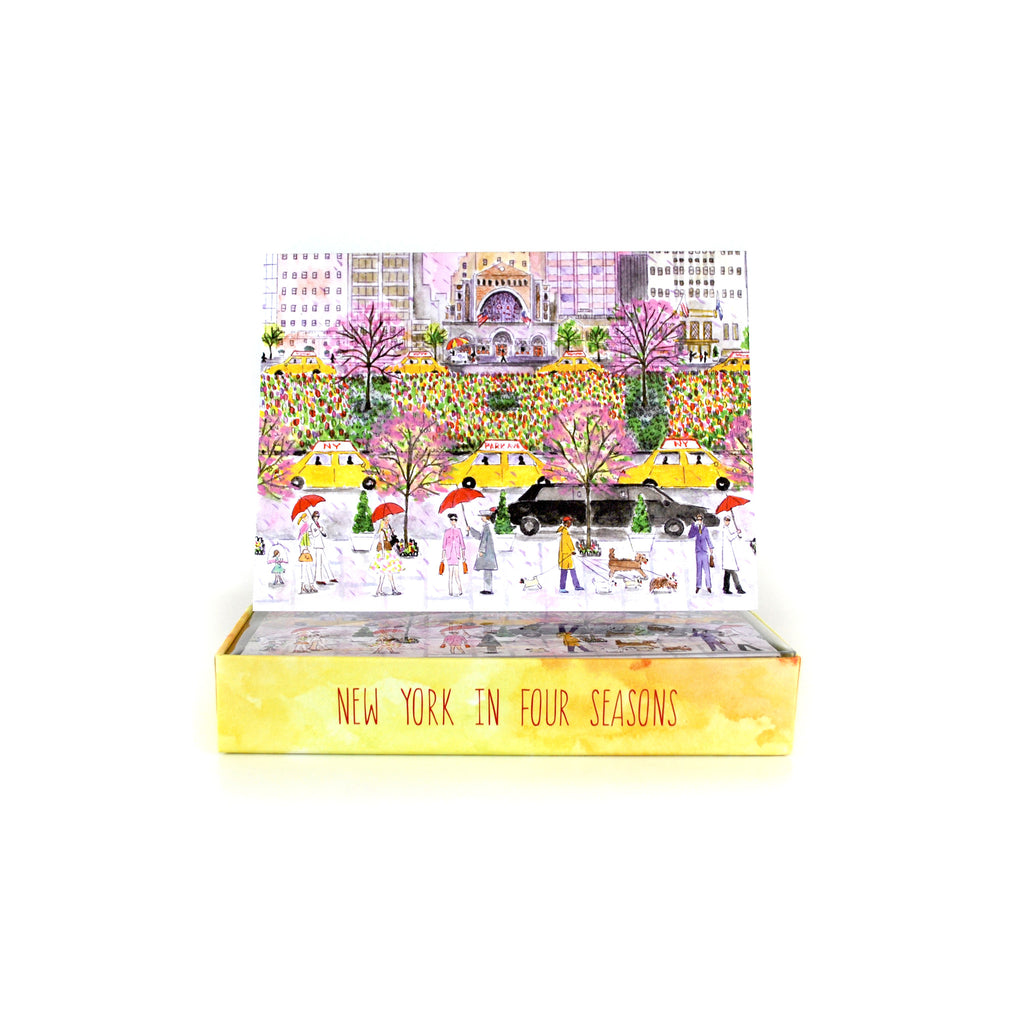Four Seasons in NYC Boxed Card Set