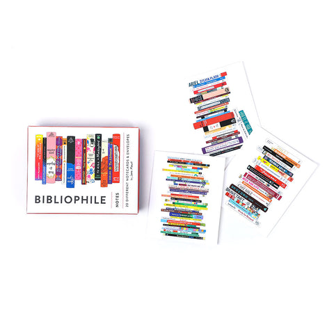 Bibliophile Notes: 20 Notecards - The New York Public Library Shop
