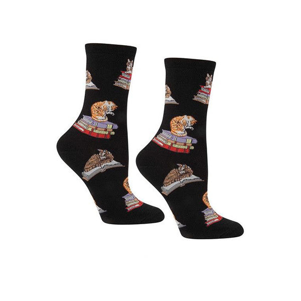 Cats on Books Socks - The New York Public Library Shop