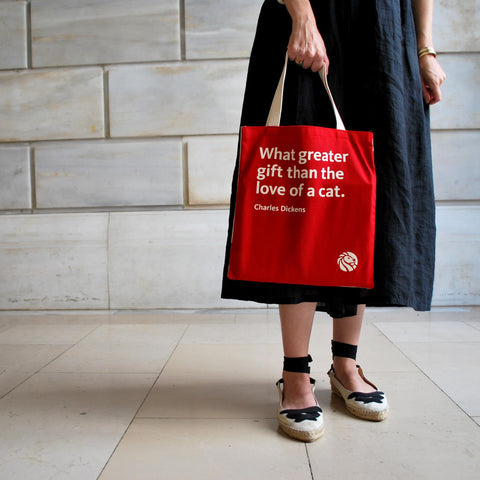 Dickens Tote Bag - The New York Public Library Shop