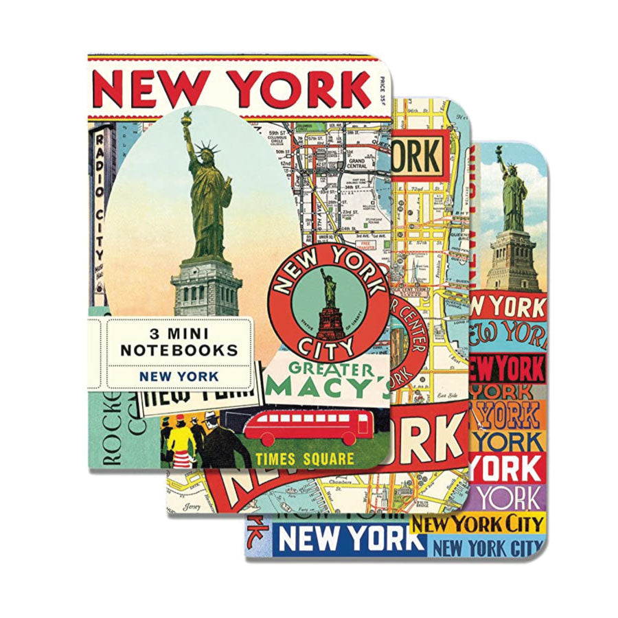 New York City Mini Notebooks Set