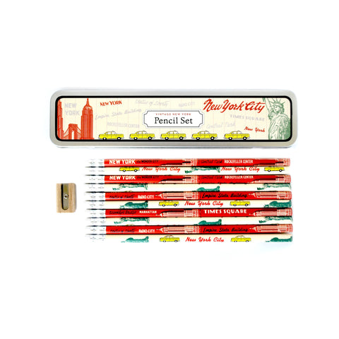New York City Pencil Set