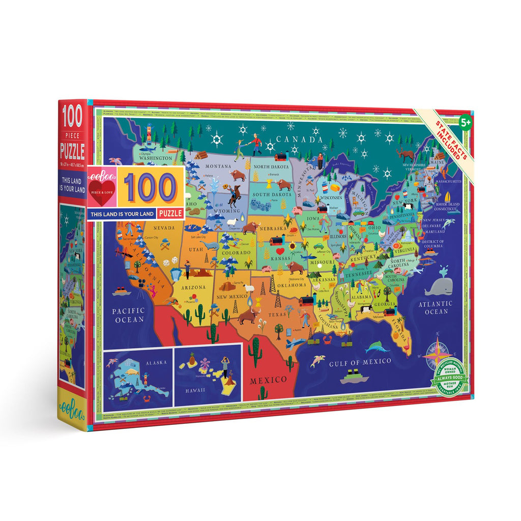 This Is Your Land USA Puzzle