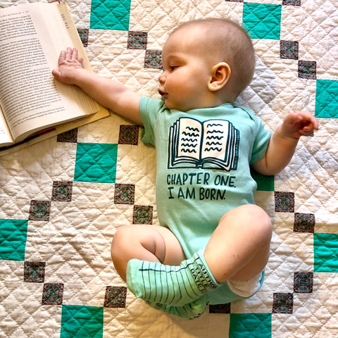 NYPL Chapter One Onesie