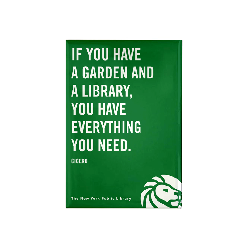 Cicero Magnet - The New York Public Library Shop