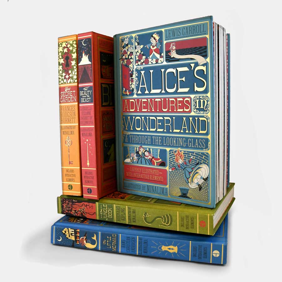 Alice's Adventures in Wonderland & Through the Looking-Glass (Deluxe) - The New York Public Library Shop