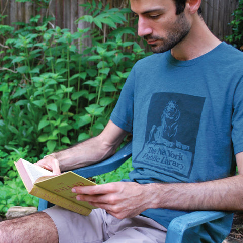 Library Lion: NYPL Vintage Inspired T-shirt