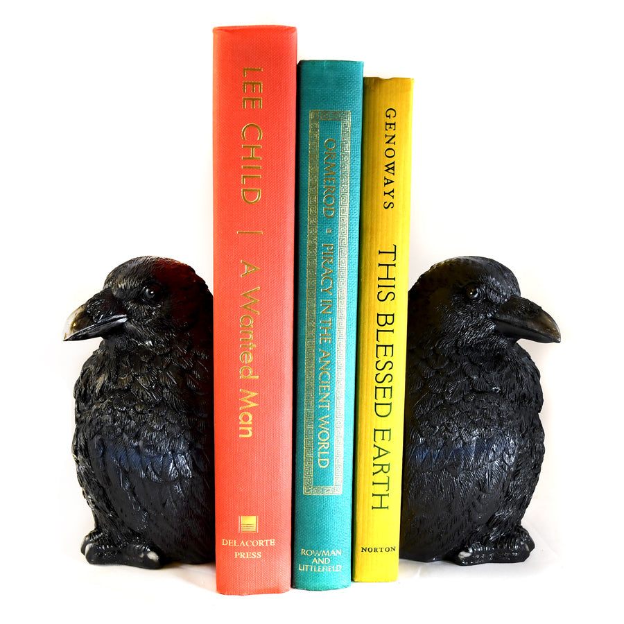 Crow Bookends - The New York Public Library Shop