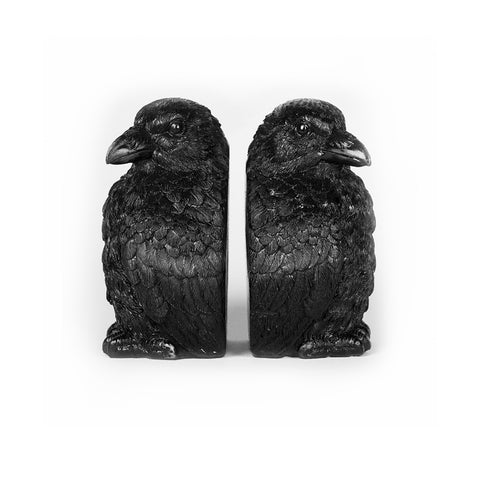Crow Bookends