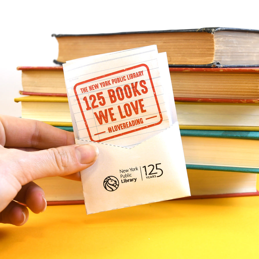 Printable Papercraft Book List: 125 Books We Love - The New York Public Library Shop