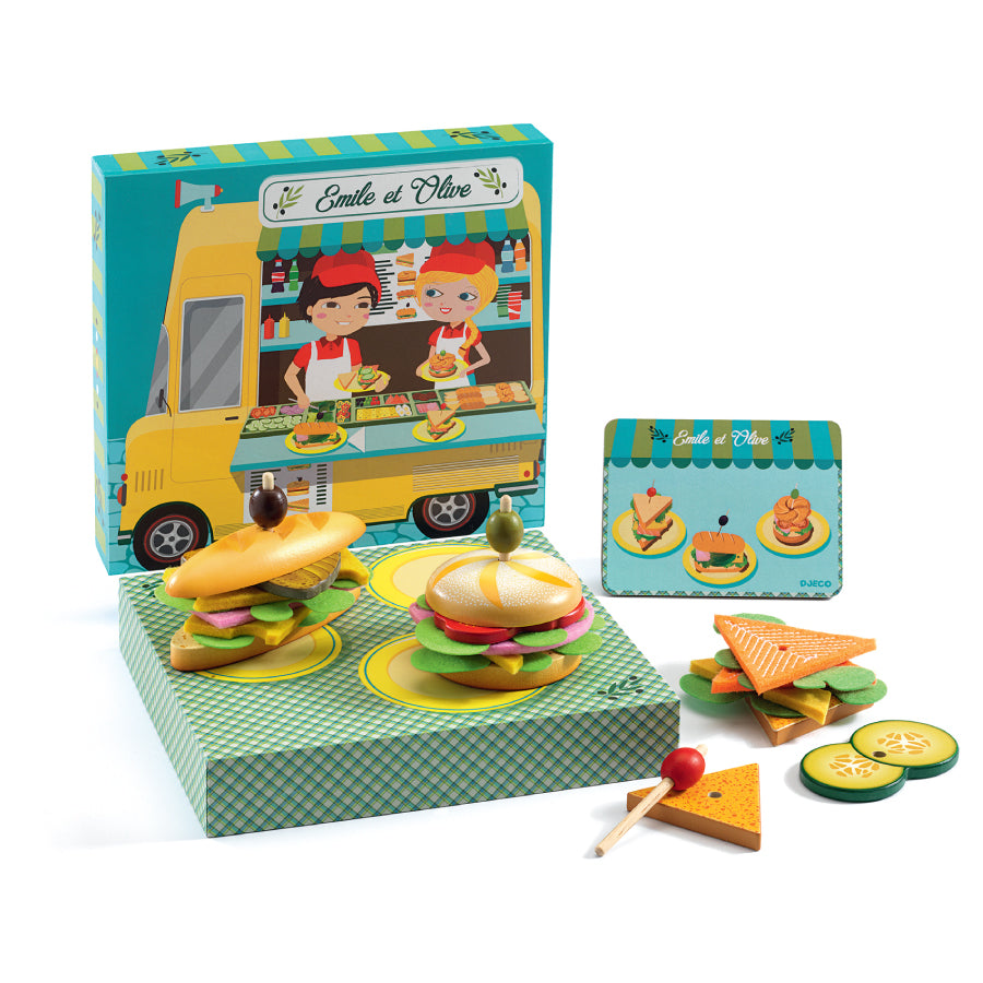 Food Truck Play Set