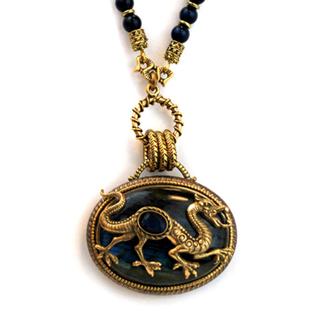 Dragon Necklace - The New York Public Library Shop