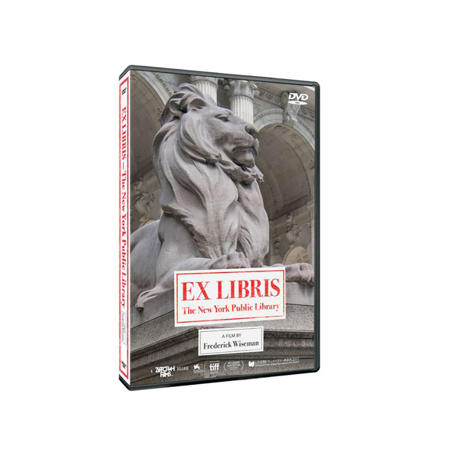 Ex Libris - The New York Public Library DVD - The New York Public Library Shop