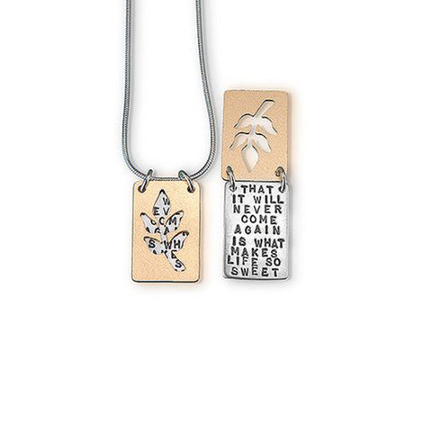 Emily Dickinson Necklace