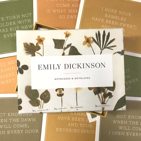 Emily Dickinson Notecards - The New York Public Library Shop