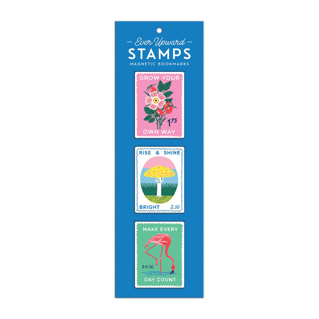Stamps Magnetic Bookmarks