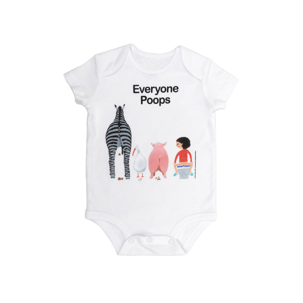 Everyone Poops Onesie - The New York Public Library Shop