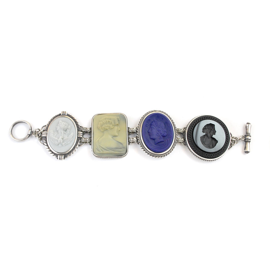 Multi-Charm Statement Bracelet - The New York Public Library Shop