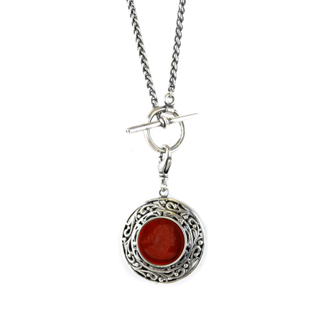 Double Sided Pendent Necklace