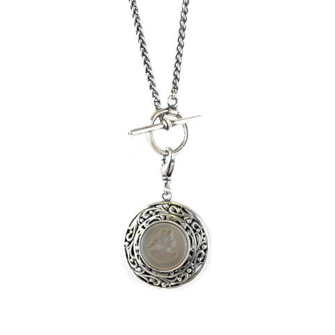Double Sided Pendent Necklace - The New York Public Library Shop