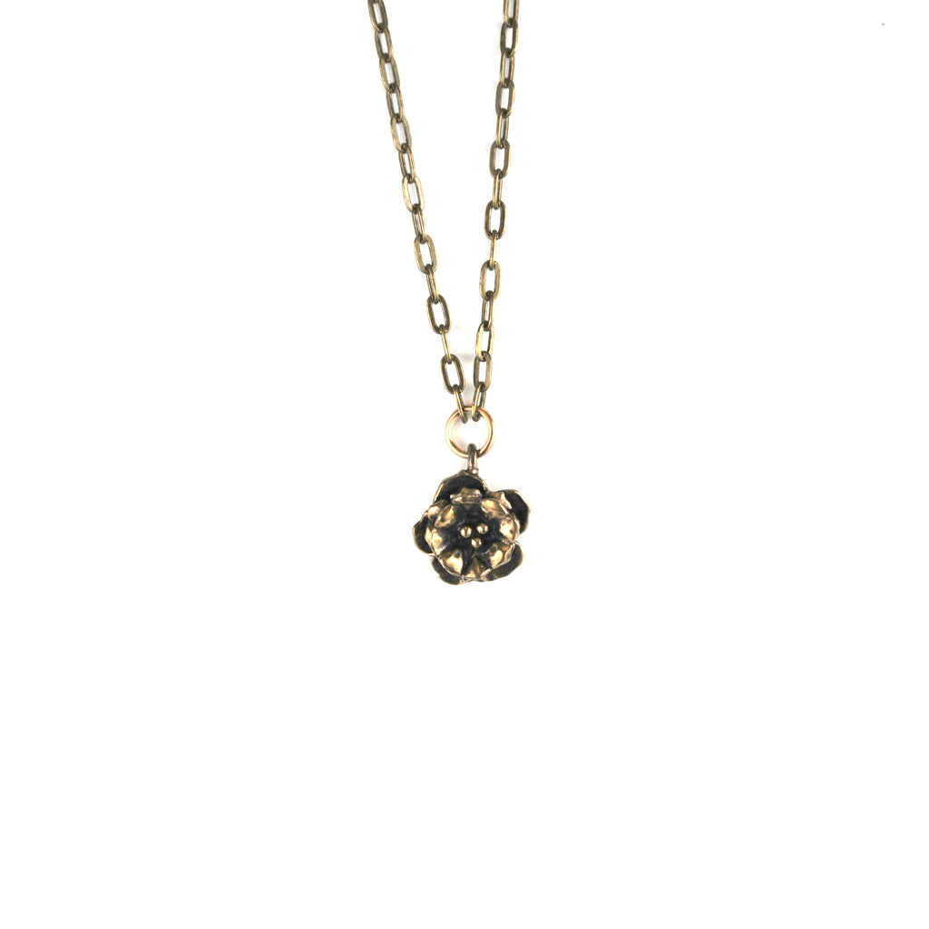 Rose Main Reading Room Single Rosette Necklace - The New York Public Library Shop