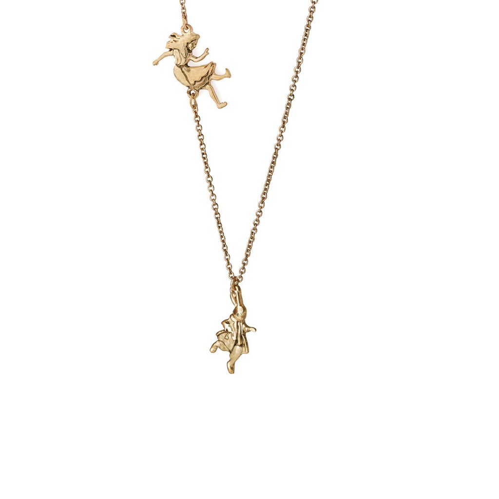 Falling Alice Necklace - The New York Public Library Shop