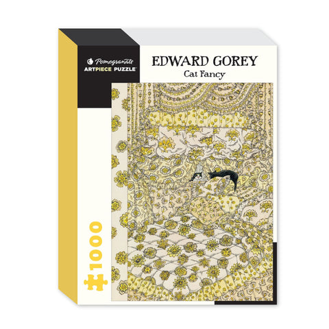 Edward Gorey: Cat Fancy Puzzle - The New York Public Library Shop