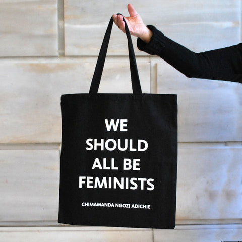 NYPL We Should All Be Feminists Tote Bag