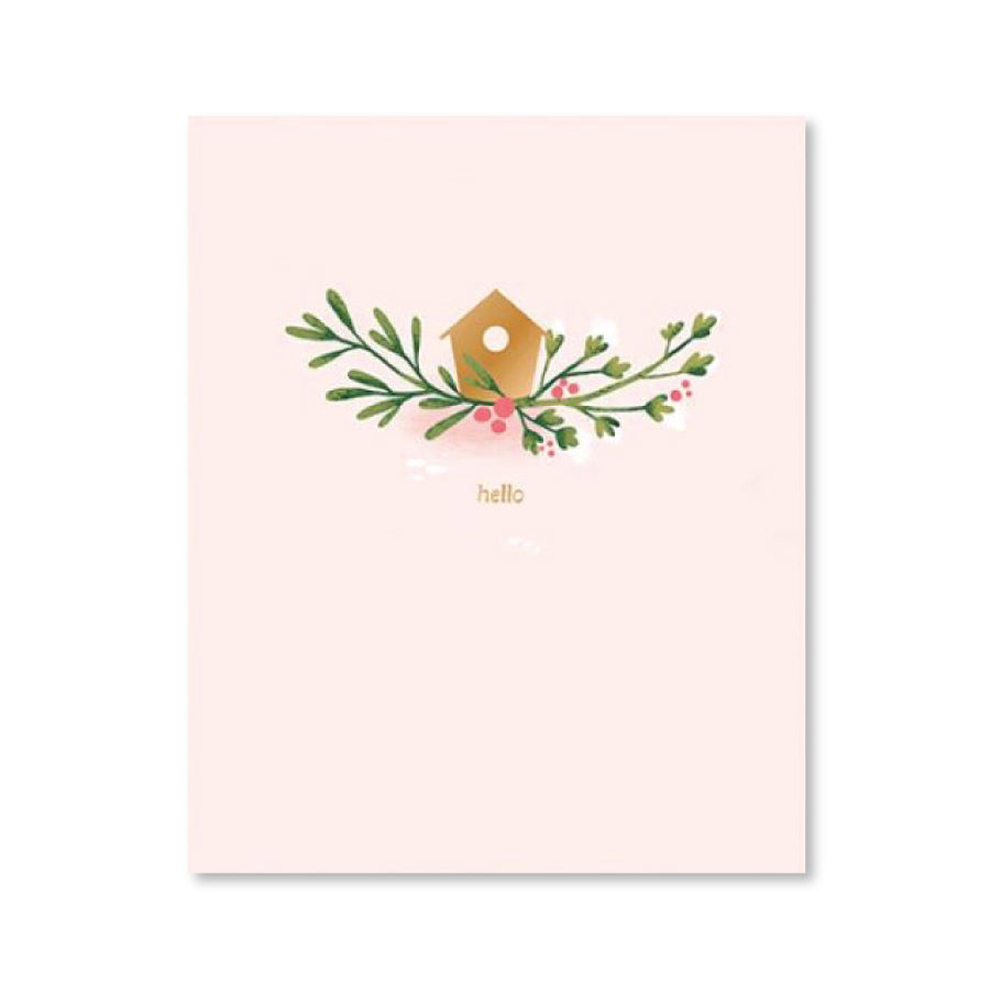 Finch Pop-Up Notecard