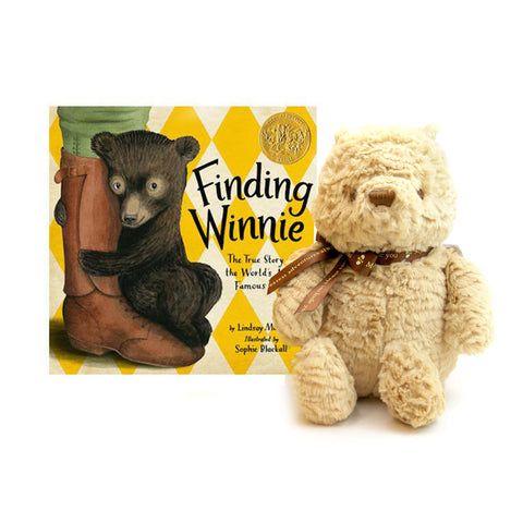 Finding Winnie Book + Plush Set