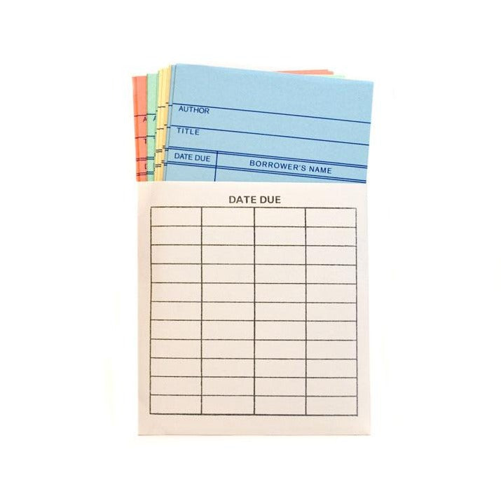 Magnetic Library Card Notecards - The New York Public Library Shop
