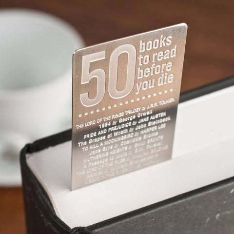 50 Books to Read Bookmark - The New York Public Library Shop