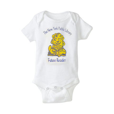 NYPL Future Reader Onesie