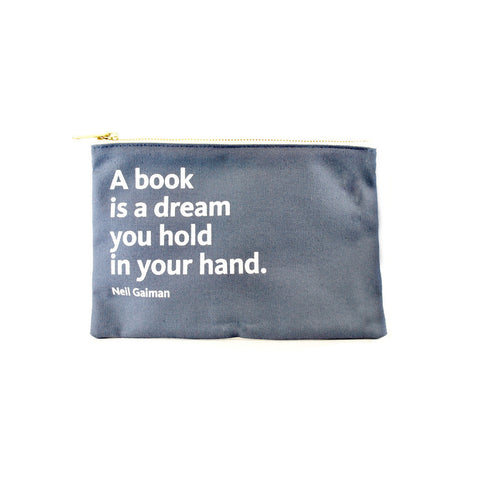 NYPL Neil Gaiman Pouch - The New York Public Library Shop