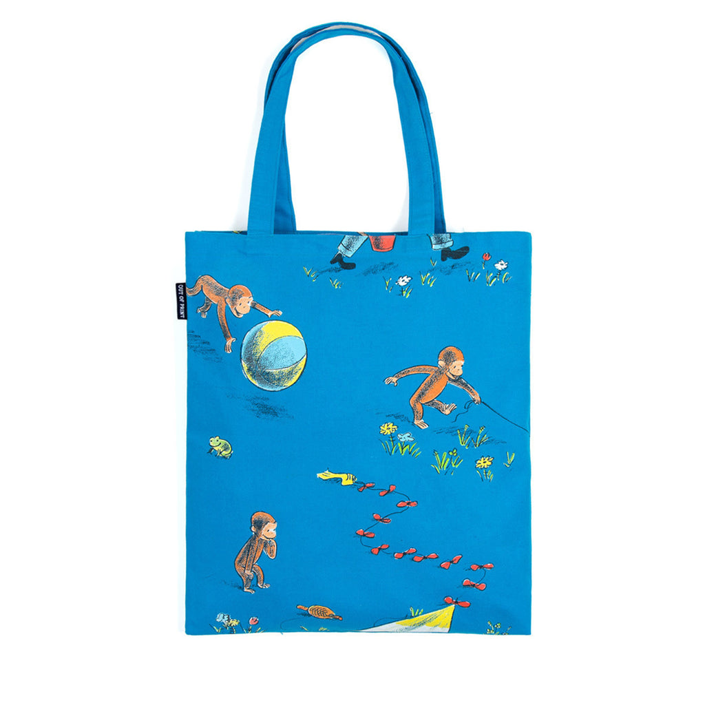 Curious George Tote Bag - The New York Public Library Shop