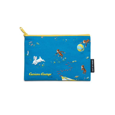 Curious George Pouch - The New York Public Library Shop