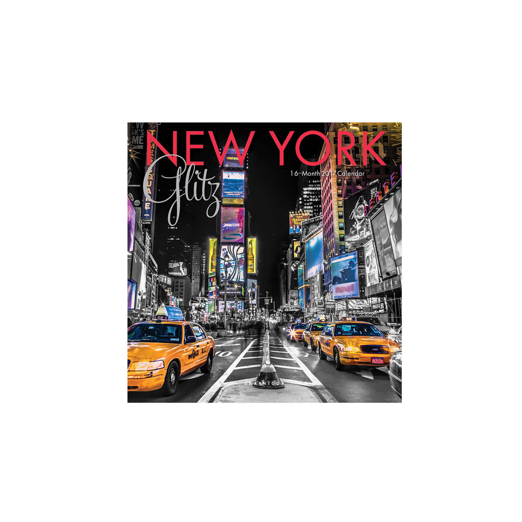 New York Small Glitz Calendar - The New York Public Library Shop