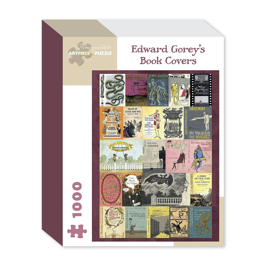 Edward Gorey's Book Covers Puzzle - The New York Public Library Shop