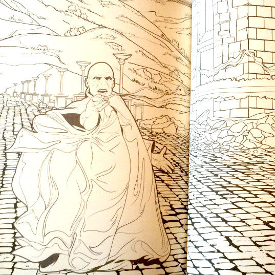 harry potter coloring book - Harry Potter Coloring Books