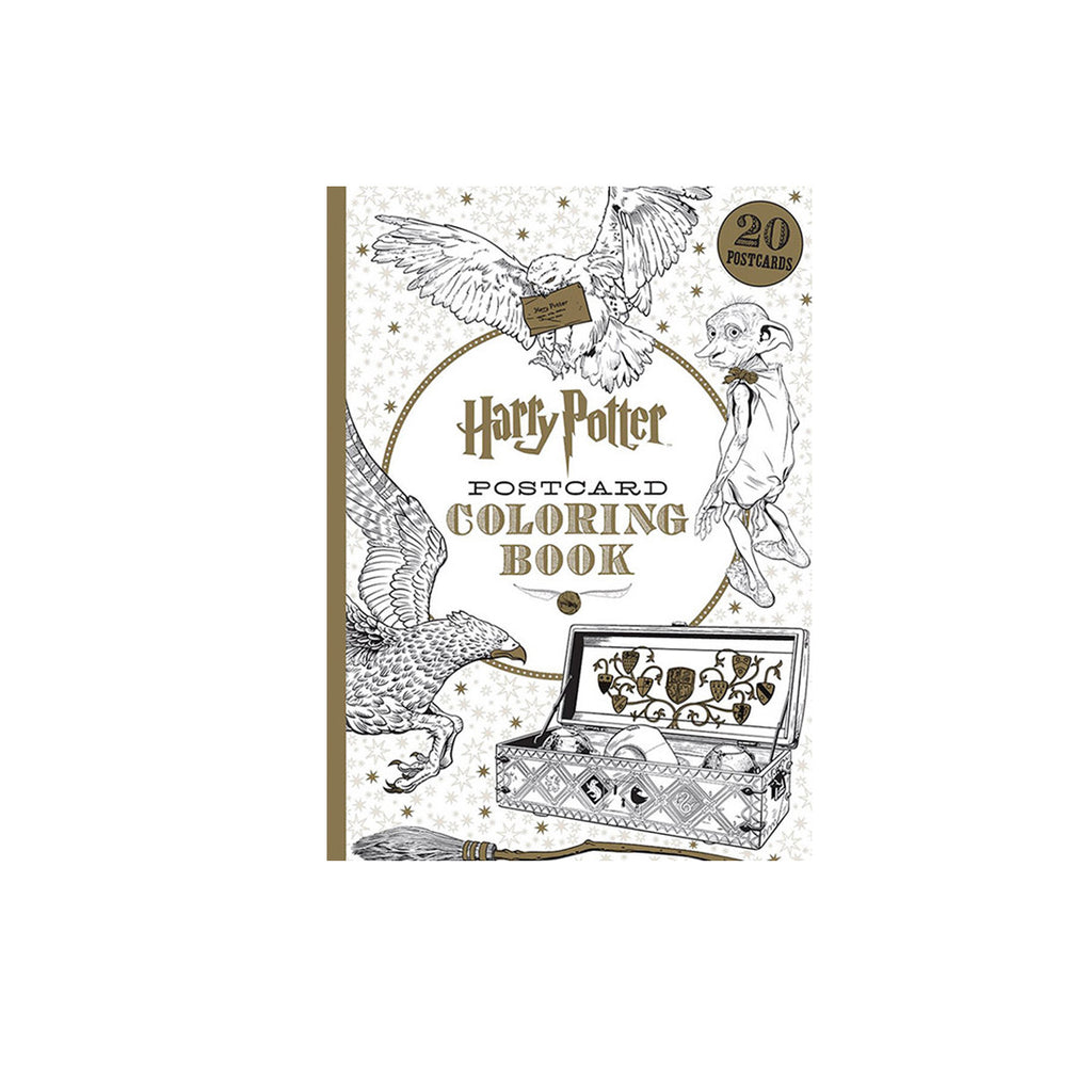 Harry Potter Coloring Postcard Book - The New York Public Library Shop