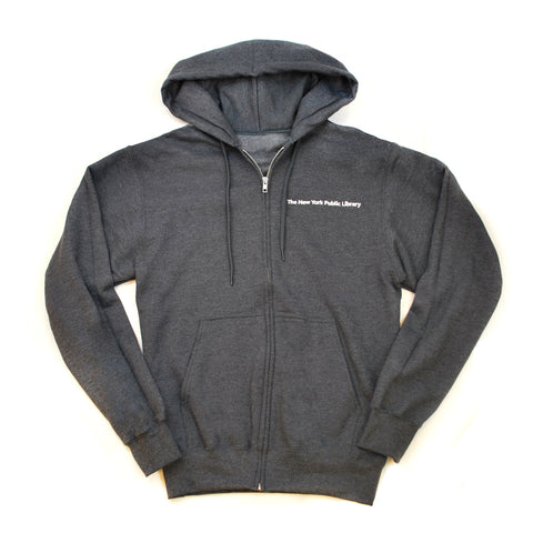 NYPL Embroidered Hooded Sweatshirt